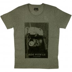 T-shirt  Space Monkeys - Ride - Heather Grey