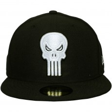 Casquette Fitted New Era x Marvel - 59Fifty Punisher Character Basic Badge - Black