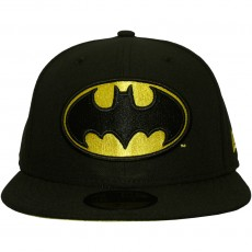 Casquette Fitted New Era x DC Comics - 59Fifty Batman Character Basic Badge - Black