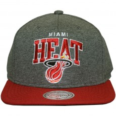 Casquette Snapback Mitchell & Ness - NBA Team Arch Jersey - Miami Heat