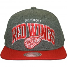 Casquette Snapback Mitchell & Ness - NHL Team Arch Jersey - Detroit Red Wings