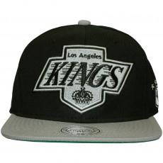 Casquette Snapback Mitchell & Ness - NHL XL Logo 2Tone - Los Angeles Kings