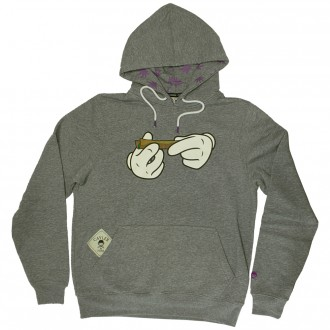 Sweat Capuche Cayler And Sons Kush Hoody Grey H Purple White