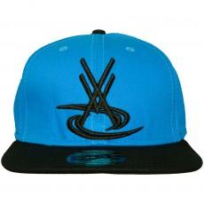 Casquette Snapback Vortex VX - VX Logo - Bleu / Noir