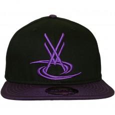 Casquette Snapback Vortex VX - VX Logo - Noir / Violet