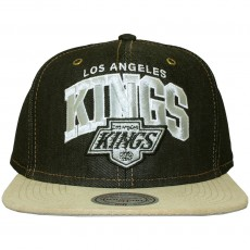 Casquette Strapback Mitchell & Ness - NHL Denim Arch Adjuster - Los Angeles Kings