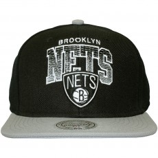 Casquette Snapback Mitchell & Ness - NBA Stack - Brooklyn Nets