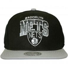 Casquette Snapback Mitchell & Ness - NBA Stack - Brooklyn Nets