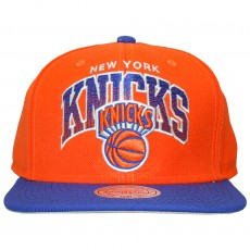 Casquette Snapback Mitchell & Ness - NBA Stack - New York Knicks