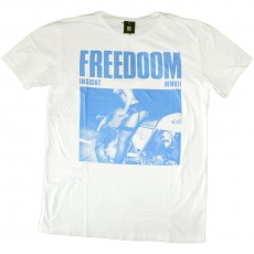 T-shirt Insight - Freedom Tee - White