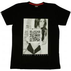 T-shirt Space Monkeys - Vicious - Black