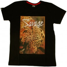 T-shirt Space Monkeys - Beast - Black