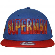 Casquette Snapback New Era x DC Comics - 9Fifty Hero Fade Superman - Blue / Red