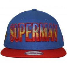 Casquette Snapback New Era x DC Comics - 9Fifty Hero Fade Superman - Blue / Red