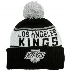 Bonnet Mitchell & Ness - NHL Wordmark Cuff Knit - Los Angeles Kings - Black