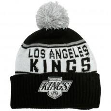 Bonnet Mitchell & Ness - NHL Wordmark Cuff Knit - Los Angeles Kings - Black