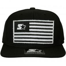 Casquette Strapback Starter - Black Flag - Black / White