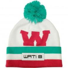 Bonnet Wati B - Big W Beanie - White/Pink