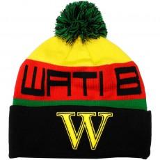 Bonnet Wati B - Text Stripe - Black/Jamaica