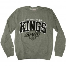 Sweat Shirt Mitchell & Ness - NHL Team Arch Crew - Los Angeles Kings - Grey