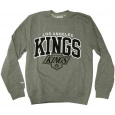 Sweat Shirt Mitchell & Ness - NHL Team Arch Crew - Los Angeles Kings - Grey