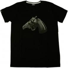 T-shirt Space Monkeys - Bullet - Black