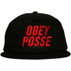 Casquette Snapback Obey - Posted - Black