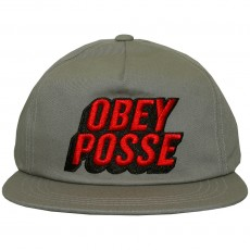 Casquette Snapback Obey - Posted - Elephant
