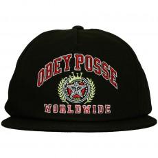 Casquette Snapback Obey - Posse Worldwide - Black
