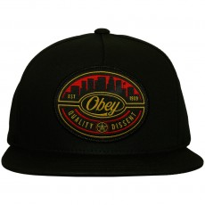 Casquette Snapback Obey - Skyline - Black