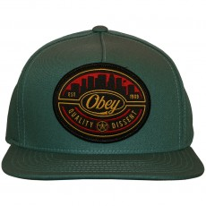 Casquette Snapback Obey - Skyline - Grey / Blue