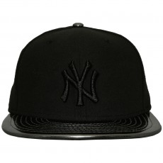 Casquette Fitted New Era - 59Fifty MLB Meddled Black - New York Yankees