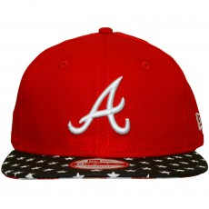Casquette Snapback New Era - 9Fifty MLB Star N Stripes - Atlanta Braves