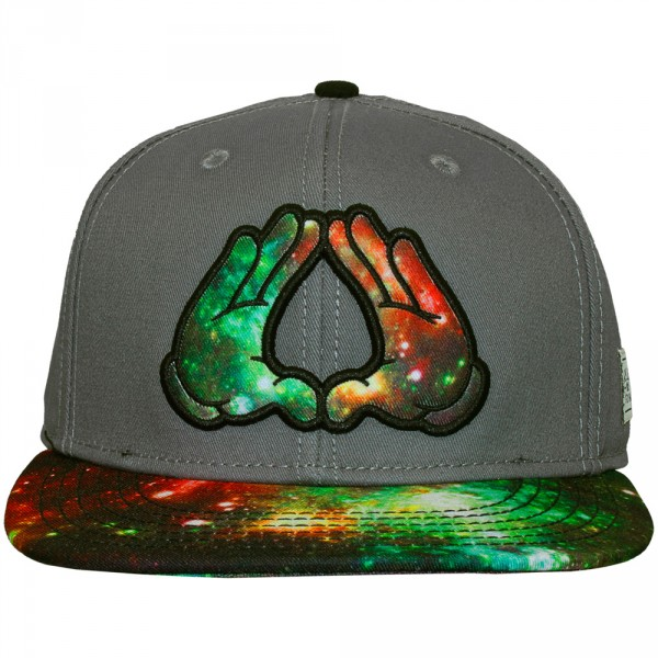 e34496e7aced3 Casquette Snapback Cayler And Sons - Rock Cap - Grey   Galaxy   Black