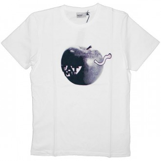 WESC T-Shirt - Eat Me - White