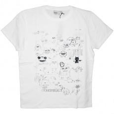 WESC T-Shirt - Déjà Vu Characters - White