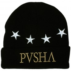 Bonnet Cayler And Sons - Pusha Beanie - Black / White / Gold