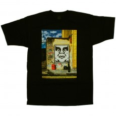 T-shirt Obey - London Icon Photo - Basic Tee - Black