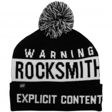 Bonnet RockSmith - Explicit Pom Pom Beanie - Black / White