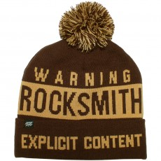 Bonnet RockSmith - Explicit Pom Pom Beanie - Chocolate / Ochre