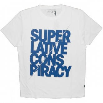 WESC T-Shirt - Big Text - White