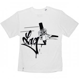 LRG T-shirt - LRG Stainer Tee - White