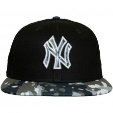 Casquette Strapback New Era - 9Fifty MLB Camo Break - New York Yankees - Navy/Camo
