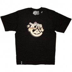 LRG T-shirt - LRG Starry Night Tee - Black