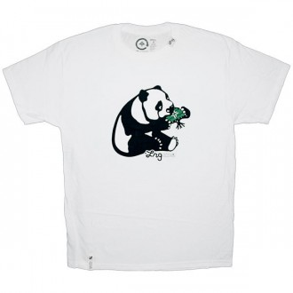 LRG T-shirt - Core Collection Panda Tee - White