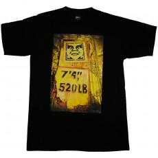 T-shirt Obey - Stencil Rack - Basic Tee - Black