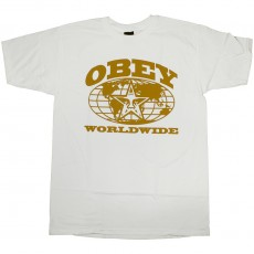 T-shirt Obey - Obey Worldwide - Basic Tee - White