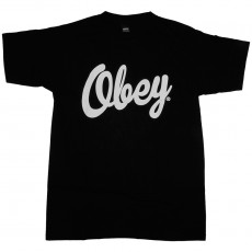 T-shirt Obey - Dewallen - Basic Tee - Black
