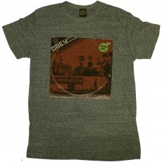 T-shirt Obey - In Concert - Triblend Tee - Heather Grey