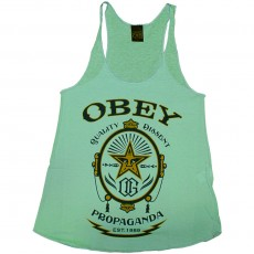 Débardeur Femme Obey - Chronic Tee - Track Tank - Sterling Blue
